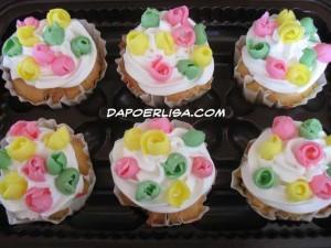 Cup cake pelangi