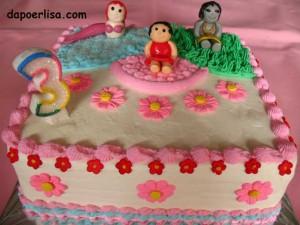 Birthday cake Rana 3 tahun