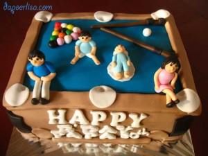 Billiard cake: 1