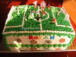 Soccer cake Rozan - 1