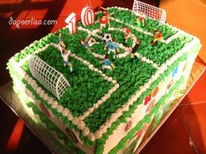 Soccer cake Rozan - 2