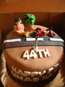 Birthday cake bos