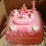 Birthday cake Amanda - 1