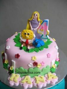 Rapunzel dan Sponge Bob