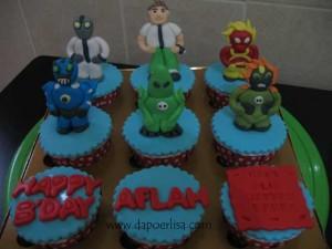 Ben 10 Cupcake Aflah