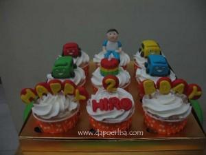 Tayo The Little Bus cupcake